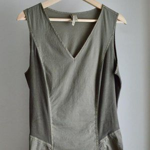 Army Green Casual Dress